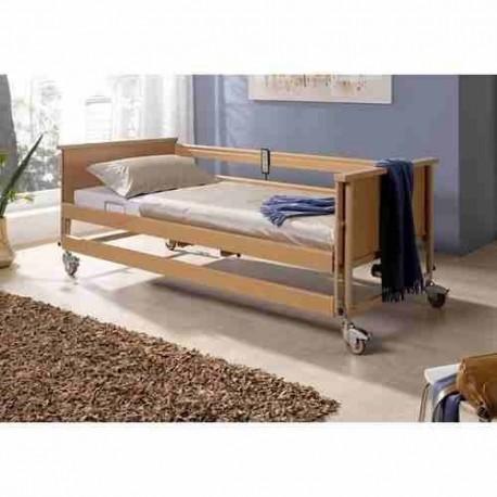 Łóżko rehabilitacyjne BURMEIER Dali nowe z materacem przeciwodleżynowym typu gofr 200x90x10cm