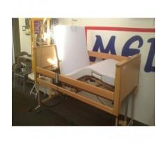 Łóżko rehabilitacyjne nowe ARMINIA III z materacem piankowym 200x90x10cm