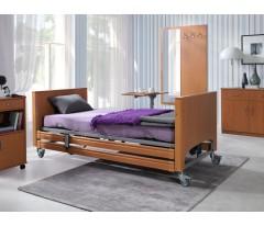 Łóżko rehabilitacyjne ELBUR PB 331 z materacem bąbelkowym i materacem piankowym