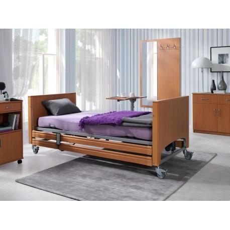 Zestaw łóżko rehabilitacyjne Elbur PB 331 z materacem babelkowym i materacem piankowym