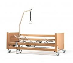 Łóżko rehabilitacyjne elektryczne VERMEIREN LUNA z materacem przeciwodlżynowym bąbelkowym i materacem piankowym