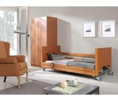 Łóżko rehabilitacyjne ELBUR PB 337 z materacem bąbelkowym i materacem piankowym