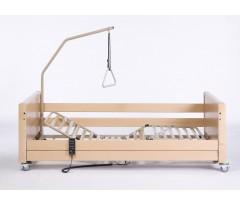 Łóżko rehabilitacyjne elektryczne VERMEIREN LUNA UL 2 z materacem bąbelkowym i materacem piankowym