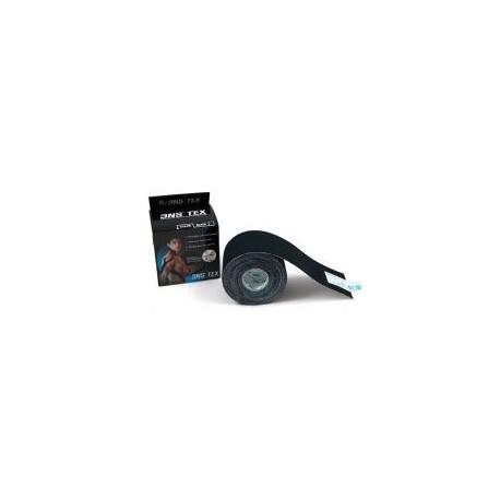 Taśma Kinesiology tape 3NS TEX 5cm x 5m - Czarne