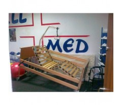 Łóżko rehabilitacyjne Burmeier Dali + nowy materac piankowy 200x90x10cm do 120kg