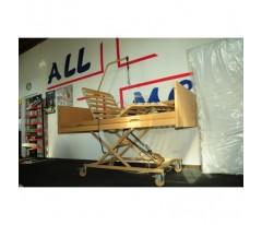 Łóżko rehabilitacyjne Burmeier Westfalia z materacem piankowym 200x90x10cm do 120kg