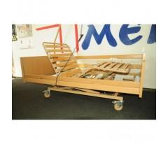 Łóżko rehabilitacyjne Burmeier Westfalia z materacem przeciwodleżynowym typu gofr
