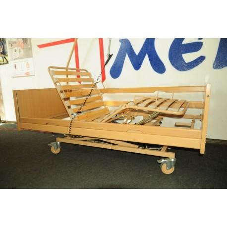 Używane łóżko Rehabilitacyjne Burmeier Westfalia Z Materacem Gofrowym