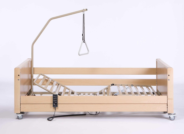 łóżko Rehabilitacyjne Elektryczne Vermeiren Luna Ul 2 Wersja Niska Low