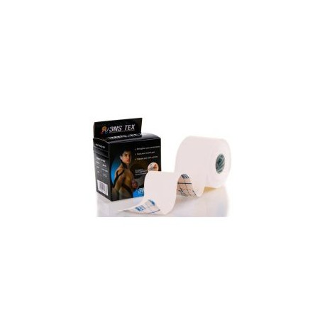 Taśma Kinesiology tape 3NS TEX 5cm x 5m - Biały