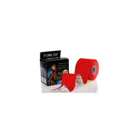 Taśma Kinesiology tape 3NS TEX 5cm x 5m - czerwona