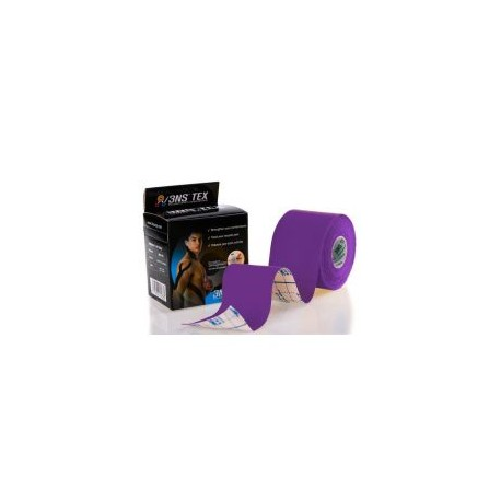 Taśma Kinesiology tape 3NS TEX 5cm x 5m - fioletowa