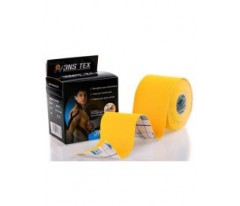 Taśma Kinesiology tape 3NS TEX 5cm x 5m - Żółta