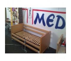 Używane łóżko rehabilitacyjne Burmeier Arminia z materacem piankowym