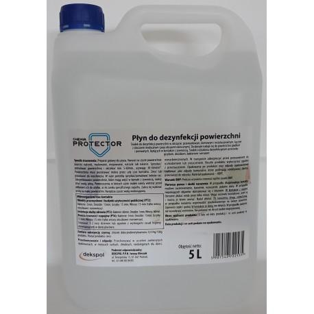 Płyn do dezynfekcji powierzchni 5 L Protector