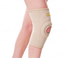 Neoprenowy stabilizator stawu kolanowego, wciągany