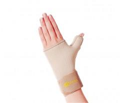 Elastyczny, neoprenowy stabilizator nadgarstka ze wzmocnieniem kciuka