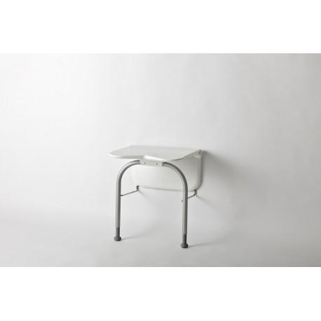 Nóżki zwiąkszające nośność krzesełka do 150 kg (białe)-Etac Relax