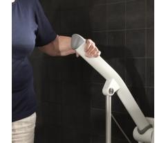Poręcz ułatwiająca korzystanie z toalety 70cm z nóżką-Etac Rex
