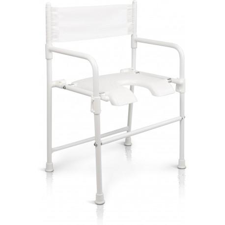 Krzesełko prysznicowe składane (130 kg)-Etac Rufus