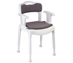 Krzesełko prysznicowe z wyjmowanymi: podłokietnikami i oparciem-Etac Swift