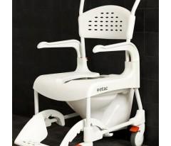 Wózek inwalidzki z funkcją toalety z blokadą dwóch kółek-ETAC Clean