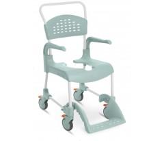 Wózek inwalidzki z funkcją toalety z blokadą czterech kółek-ETAC Clean
