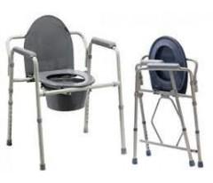 Krzesło toaletowe, przenośne WC