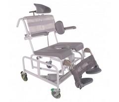 Krzesło toaletowo-kąpielowe HMN M2 200/300 kg Wide El-Tip