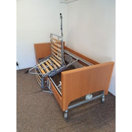 Łóżko rehabilitacyjne TWISTO-SWING z obrotowym i przechylnym leżem
