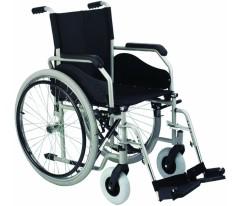 Wózek inwalidzki ręczny stalowy Basic Plus VITEA CARE VCWK43BP